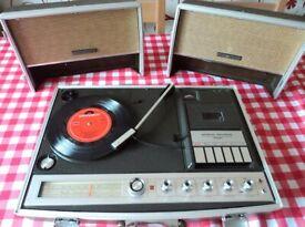 Hitachi Vintage 1970s Music Centre SDT 7675 (record player