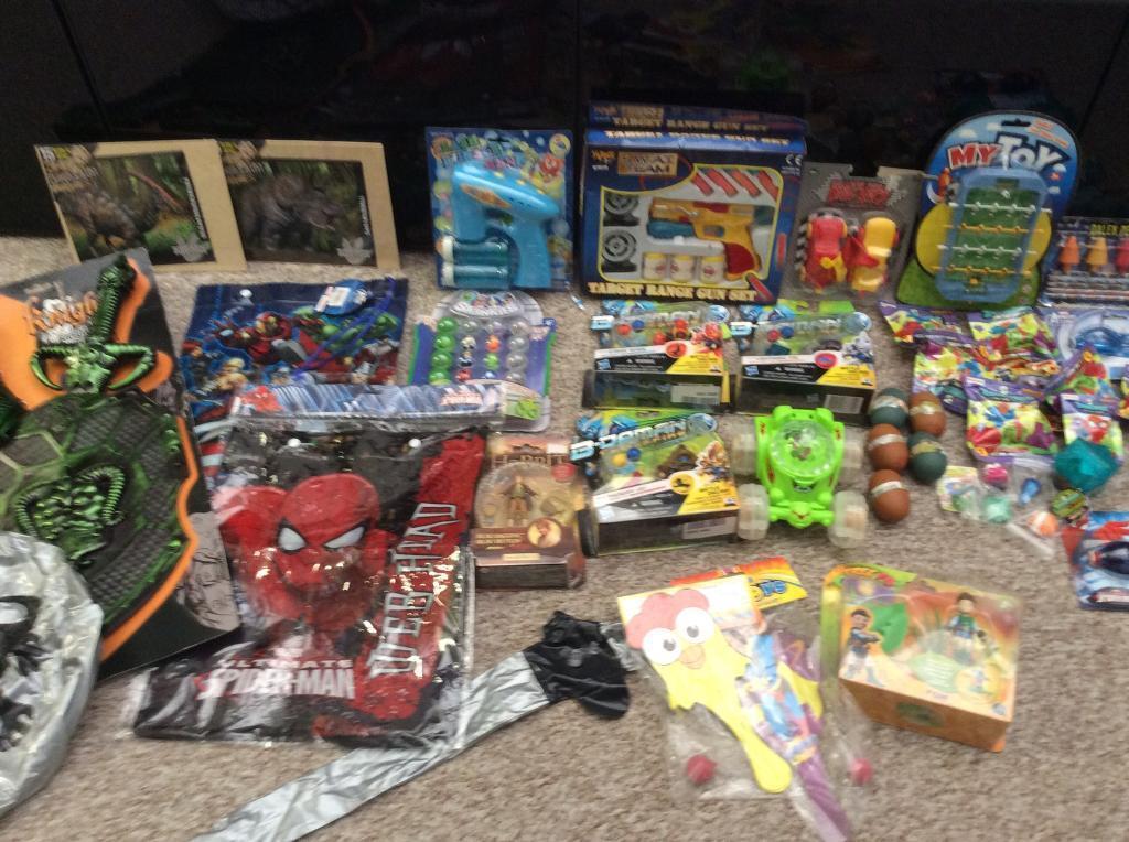 Boys new bundle of toys