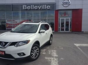 2014 Nissan Rogue SL TECH 1 OWNER LOCAL TRADE