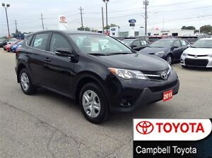 2015 Toyota RAV4 LE AWD HEATED CLOTH JUST IN