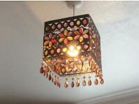 Moroccan lamp shades x 2