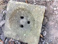 Stone drain / gulley