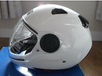 AGV / MDS Sunjet White Motorbike Helmet Size Large but closer to Medium - New in Box / Unused.