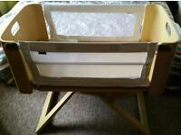 Bednest bedside crib. Used but in good condition.