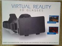 Virtual Reality 3D Glasses Excellent Condition