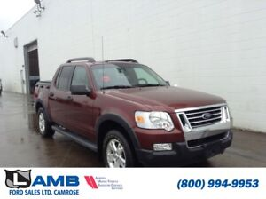 "2009 Ford Explorer Sport Trac XLT 4x4 with Sync System and 17"" A"