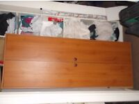 2 identical sofas and 1 wooden wardrobe