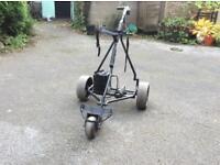 Powercaddy electric golf trolley