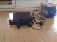 2TB PlayStation 4 with games (good condition)