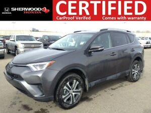 2017 Toyota RAV4 LE AWD| 3M| BT| HEATED SEATS| BACK CAM