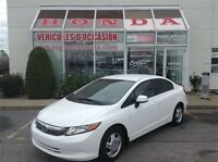 2012 Honda Civic LX * Certifié * A/C * Bluetooth * Cruise
