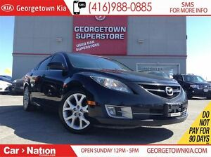 2009 Mazda MAZDA6 GS-I4 LEATHER| SUNROOF| ALLOY WHEELS| HEATED S