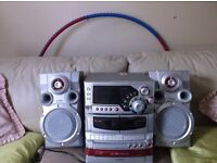 Goodmans Hi Fi Unit with matching Speakers