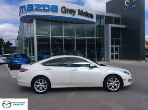 2013 Mazda MAZDA6 GT, Heated Leather, Sunroof, One Owner!