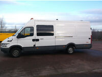 iveco daily lwb x welfare / race van