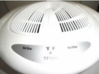 YF 066 PROFESSIONAL WARM OR COOL AIR NAIL DRIER WITH INFRARED SENSOR.