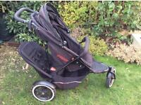 Phil and Teds explorer double tandem buggy