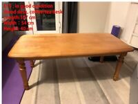 wood desk coffee/tea desk good condition