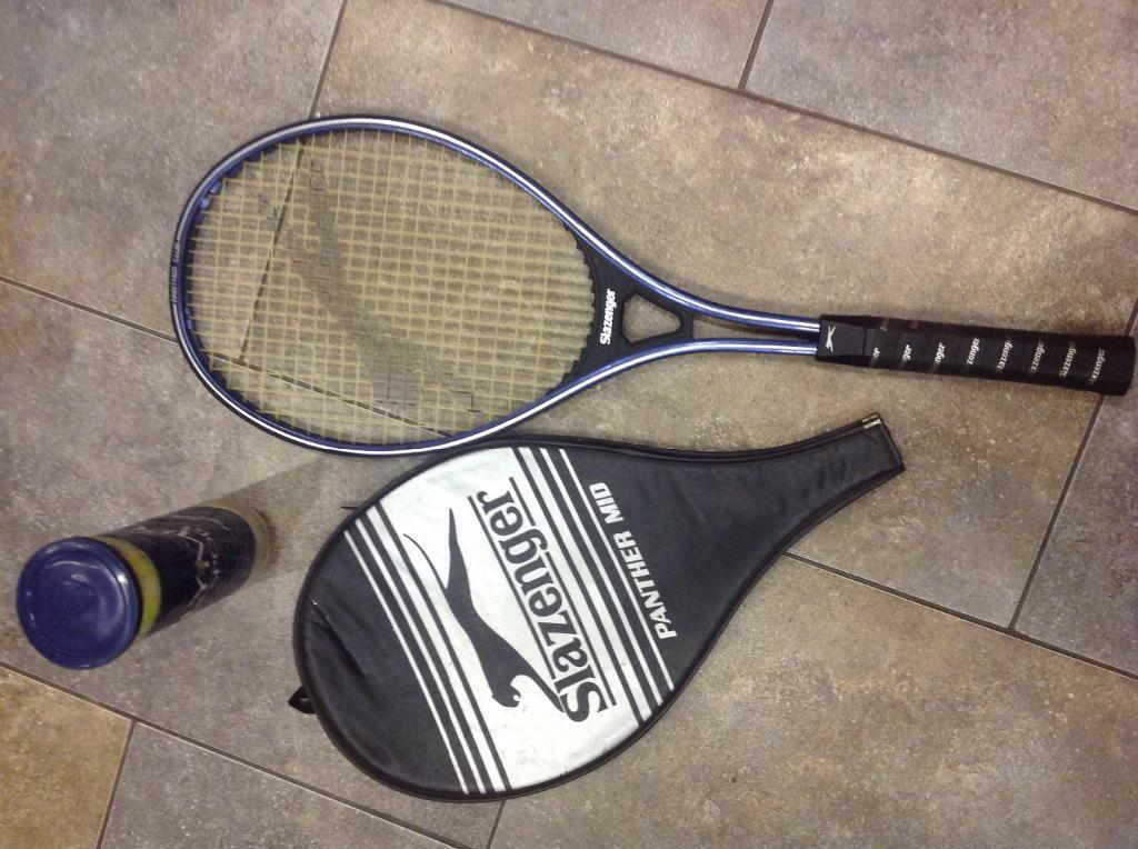 Slazenger Tennis Racket Cover Slazenger Panther Mid Tennis Racket With Case And Balls