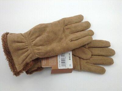 Glove Soft Ground - Women's Isontoner Brown Soft Earth Winter Gloves - M - MSRP $40 - 25% off