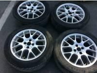 VW BBS STYLE alloys 4x100