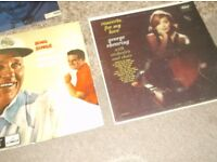 QUANITY VINYL LP RECORDS WHATEVER YOU WANT TO CALL THEM, X 7,ORIGINAL COVERS,SOME RARE,OFFERS