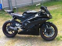2006 Yamaha R6 black raven edition