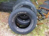 GOODYEAR WRANGLER RT/S P255/70 R16 TIRES