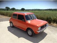 1275GT 1972 classic Mini for sale - 1 owner from new - brilliant condition