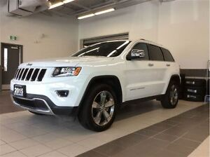 2015 Jeep Grand Cherokee Limited - Sunroof! - Low km