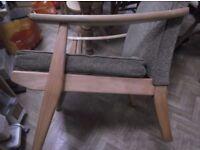 Mid-century scandi-style armchair