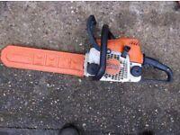 Stihl 180 chainsaw for sale.