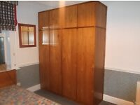 Wardrobes, drawers units, shelves and bed - Full Bedroom set!