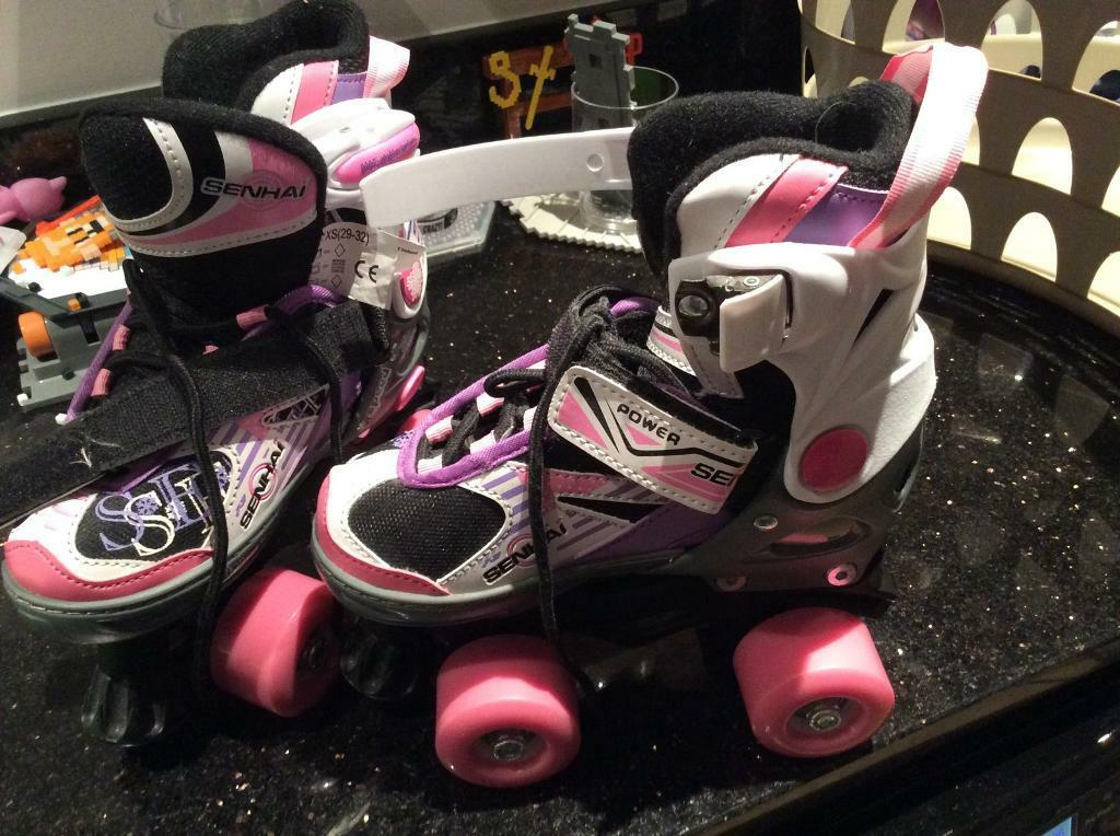Girls roller skates - brand new - never used