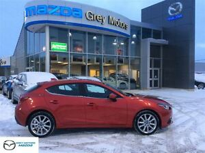 2014 Mazda MAZDA3 GT-SKY, Power Sunroof, Leather, Navigation, On