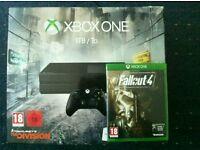 Xbox one 1TB plus 2games