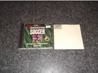 SENSIBLE SOCCER & LTD EDITION WORLD CUPS TEAMS DISK AMIGA CD32