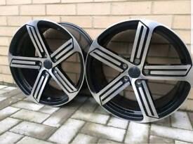 """VW/SEAT/SKODA 18"""" Cadiz Style Alloy New Unused"""