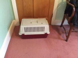 Cat travel box