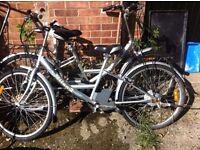 2 Electric push bikes