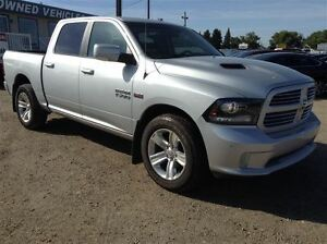 2014 Ram 1500 Sport | UConnect | Sunroof | Heated/AC Leather |