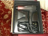 alter ego professional hair dryer. used 3 times.mint condition.still in box