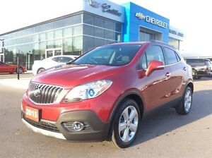 2015 Buick Encore Leather | Navi | Rear Cam | Sunroof | Bluetoot