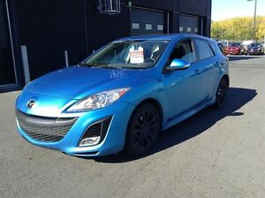 2010 Mazda MAZDA3 SPORT GT HATCH A/C MAGS TOIT CUIR NAVIGATION