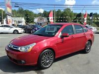 2009 Ford Focus SES,LEATHER,SYNC,TINTED WINDOWS,GREAT VALUE!!