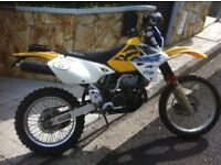 Frame chasis motorbike 400 DRZ E with documentation