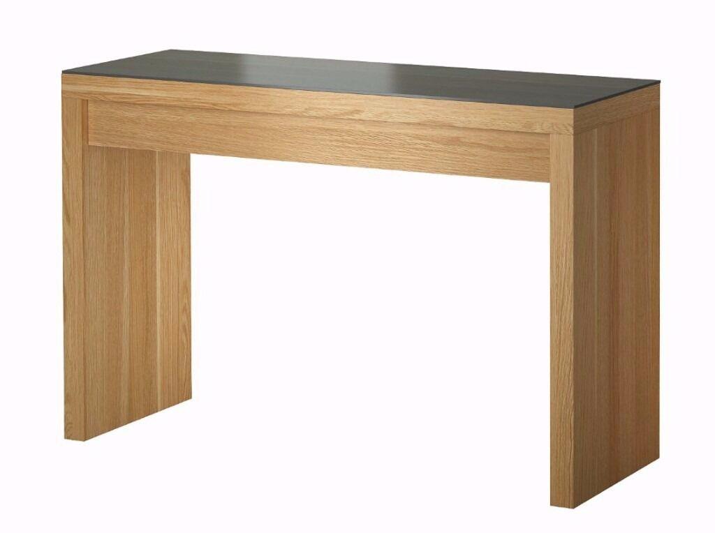 ikea malm dressing table oak colour 45 in hackney. Black Bedroom Furniture Sets. Home Design Ideas