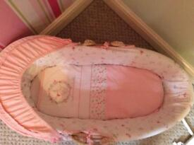 Mothercare My little garden Moses basket