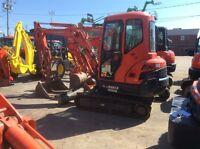 2012 Kubota KX91 3 pelle excavatrice usagé