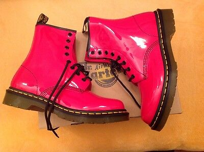 Boot Anfibio Donna Dr.MARTENS 1460 W 11821606 patent lamper Red 40 /38